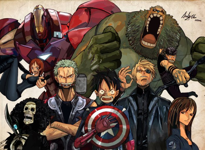 one avengers piece